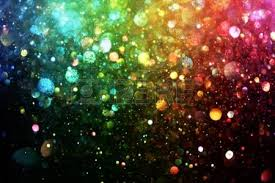 bright colorful rainbow holographic glitter texture stock photo