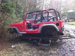 jeep frame 98 tj tub and frame