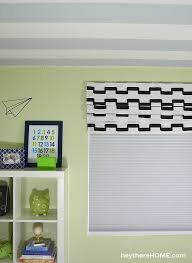 Instructions For Making A Roman Blind How To Make A Faux Roman Shade
