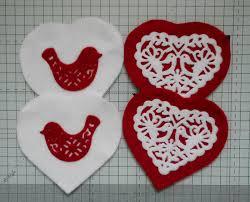 Fabric Heart Decorations Make Christmas Decorations Using Sara U0027s Scandinavian Christmas