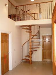 Space Between Stair Spindles by Mobirolo Ghibli Spiral Staircase Wooden Hill Company