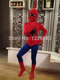 Spiderman Costume Halloween Wholesale Height 90cm 180cm Spiderman Cosplay Halloween