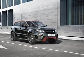 land rover evoque custom official range rover evoque u0027ember u0027 special edition gtspirit