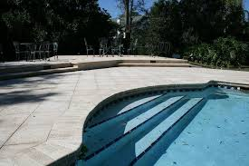 renovating a pool deck without removing old cracked concrete deck