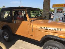 orange jeep cj 1982 jamboree parts paint
