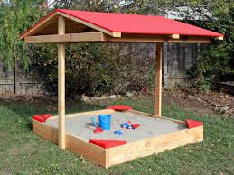 How To Build A Covered Pergola by How To Build A Covered Sandbox How Tos Diy
