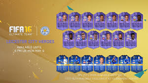 gg ea fifa 16 release cards for entire leicester city squad
