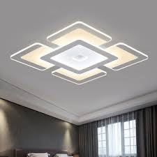 Acrylic Ceiling Light Rectangular Acrylic Modern Led Ceiling Light Living Room Bedroom