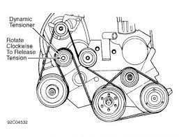 i need a diagram for a serpentine belt for a 92 plymouth voyager
