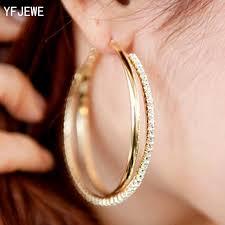 big ear rings images New big hoop earring for women sale fashion big round hoop jpg
