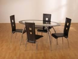black glass kitchen table oval dining table set buy black glass oval dining table set in uk