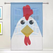 Sheer Door Curtains Aliexpress Com Buy Blue Sheer Door Curtain Panels W55x L78 Inch