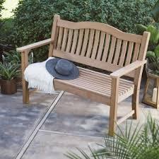 Garden Treasures Patio Bench Garden Benches On Hayneedle Garden Benches Bench For Sale