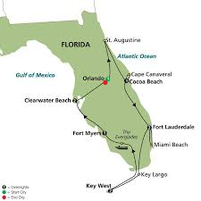 Cocoa Florida Map by Highlights Of Sunny Florida Cosmos Pavlus Travel
