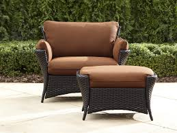 Patio Chair And Ottoman Set La Z Boy Outdoor Deve 2pc Everett Oversized Chair With Ottoman
