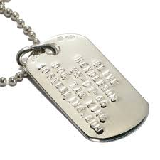 engraved dog tags for men mens silver dog tags discs 10sterling