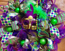 mardi gras deco mesh mardi gras wreath tuesday wreath deco mesh