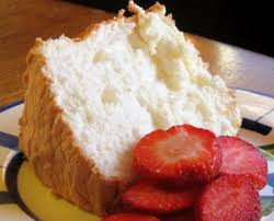 sponge cakes tasty red angel food cake decorating idea with red