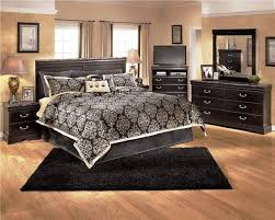 Elegant Style For Your Black Bedroom Sets All Home Decorations - Black bedroom set decorating ideas