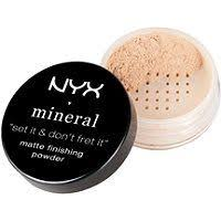 Bedak Nyx nyx professional makeup mineral finishing powder reviews photos