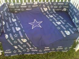 dallas cowboys crib bedding set