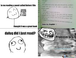 Reading Book Meme - le me reading a book by d 1109 meme center