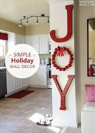 christmas wall decor jolly diy wall that will amaze you page 2 of 3