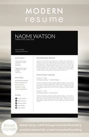 Ms Word Format Resume Sample by 191 Best Modern Resume Templates Images On Pinterest Cv Template