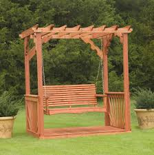 exterior wrought iron porch swings with a frame using iron seat