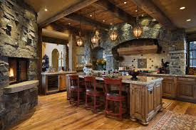timber frame mountain home with rustic details in big sky