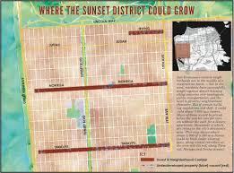 Map Of San Francisco Neighborhoods by Housing Solution Increase Density In Western Neighborhoods And