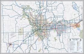 Wa State County Map by Spokane Washington Bike Map Spokane Wa State U2022 Mappery