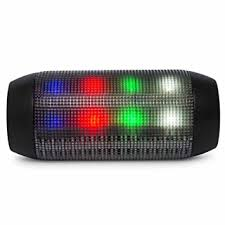 light up portable speaker bass jaxx calypso led glow color change light up portable speaker