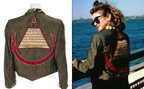Seeking Jacket Madonna Clothes Fetch High Prices At Rock Auction Telegraph