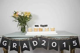 Homemade Graduation Party Centerpieces by New Graduation Decorating Ideas Pear Tree Blog