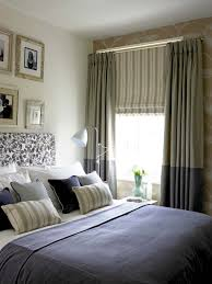 Really Like The Roman Blind And The Two Tone Curtains Combined - Bedroom curtain design ideas