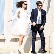 wedding dress daily keira knightley admits chanel wedding dress is daily