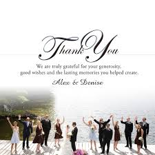 wedding wishes exles wedding thank you cards in a hurry authenticity card