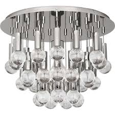 Large Flush Mount Ceiling Light by Milano Flush Mount Ceiling Light By Robert Abbey Ylighting