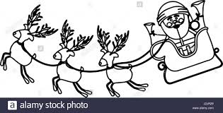 sleigh black and white stock photos u0026 images alamy