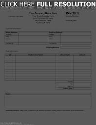 shipping invoice sample template development plan free receipt