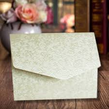 10 ivory cotton white applique a6 pocketfold wedding invitations