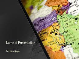 middle east powerpoint template backgrounds 11303