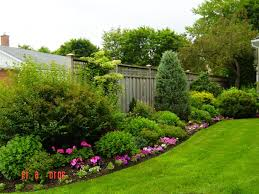 backyard flower bed designs home ideas download free