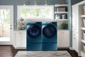 samsung 5 2 cu ft front load washer u2013 sapphire blue wf45k6200az