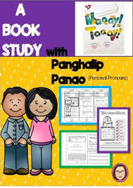 a filipino book study craftivity worksheets focusing on