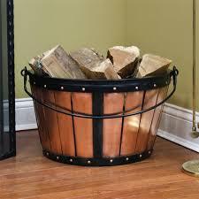 amazing wood holder inside fireplace home decoration ideas