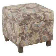 ora oval storage ottoman floral ottoman hayneedle