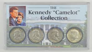 kennedy camelot nice set kennedy camelot collection 4 coin set property room