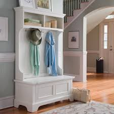 classic country hallway hallway decorating ideas hall tree with storage bench dans design magz